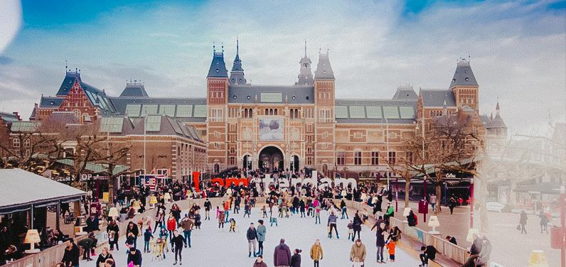 mercado navideño museumplein